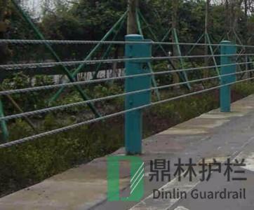 钢丝绳护栏的施工及方法